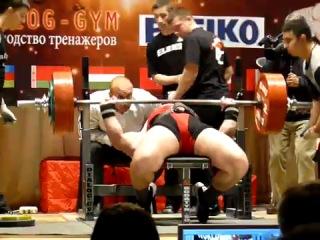 ����� ������� - ��� ������ ��� 300.5�� ��� ���������� ����� ������!! WORLDLIFTING 2010, 19 ������� RAW PRO